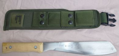 British Army Golok with Sheath