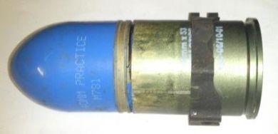 40mm training grenade