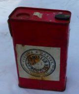 Explosive powder tin