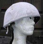 Arctic helmet cover and Mk6 helmet