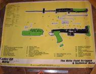 SA80 cadet field stripped Poster