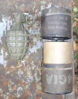 US Pineapple Grenade WW2
