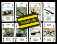 UXO recognition cards