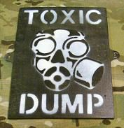Toxic Dump sign